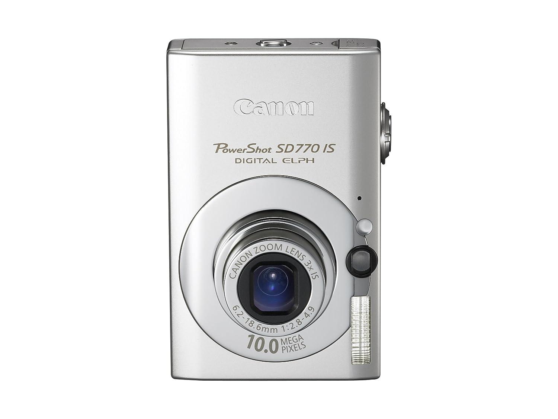 amazon com canon powershot sd770 is 10mp digital camera with 3x rh amazon com Canon Camera Under 100 Dollars Canon Sure Shot Digital Camera