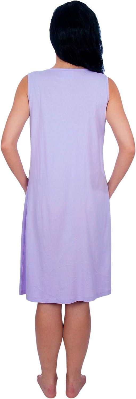 My Bella Mama Sleeveless Nursing Nightgown//Breastfeeding Sleepwear
