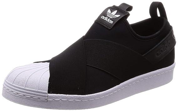 8afffb4304b77 Amazon.com: Adidas Superstar Slip On Womens Sneakers Black: Clothing