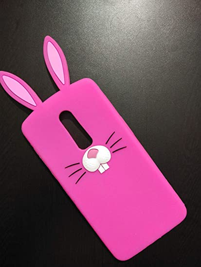 competitive price 87236 870ab O4U OnePlus 6t Cover, 3D Cartoon Hot Black Bunny: Amazon.in: Electronics