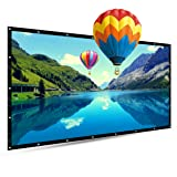 150 Inch Portable Projector Screen,TOUMEI 16:9