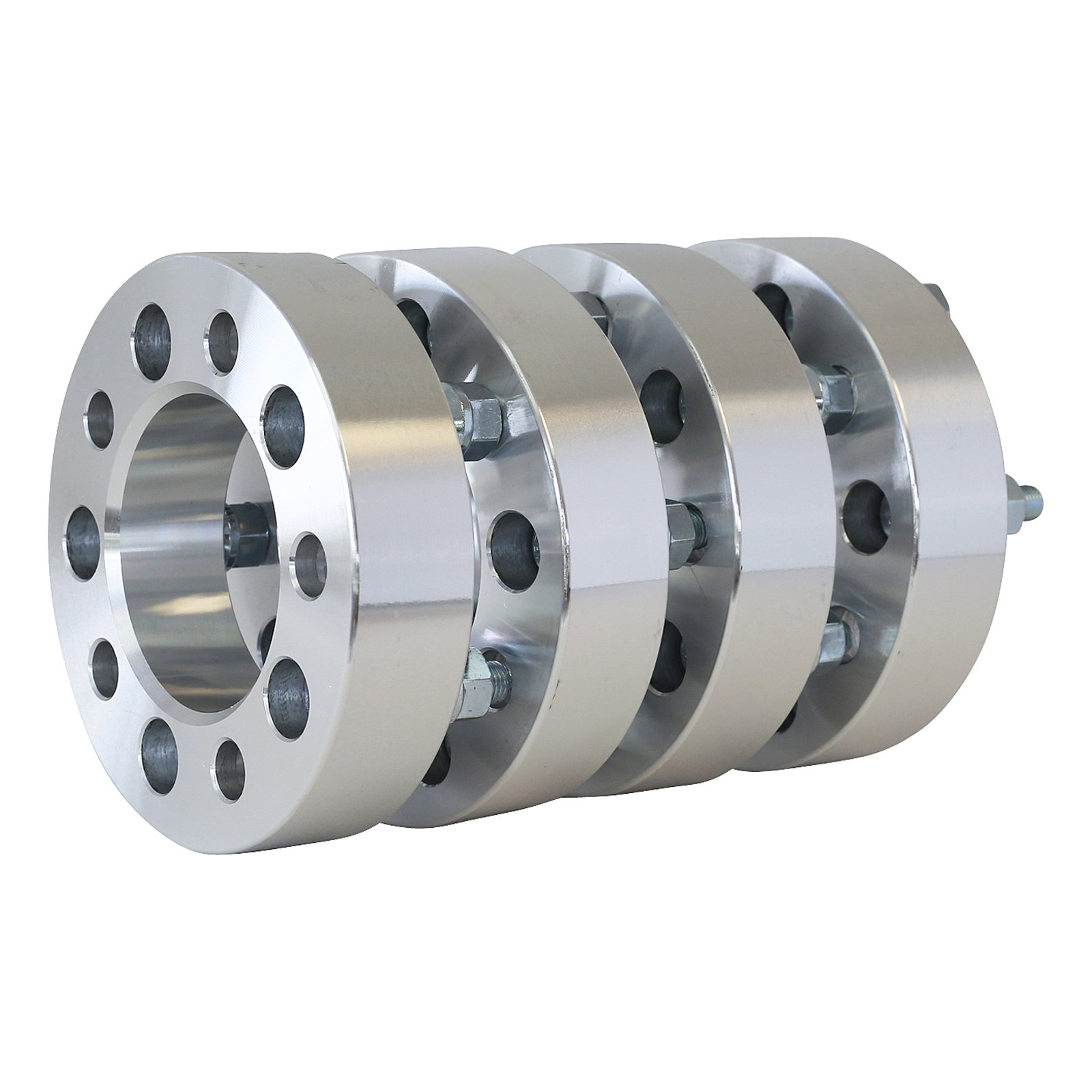 4 qty | 3'' (1.5'' per side) | 5 X 4.75 Wheel Spacers Adapters | 12X1.5 | 5x4.75 - SmartPartsCo