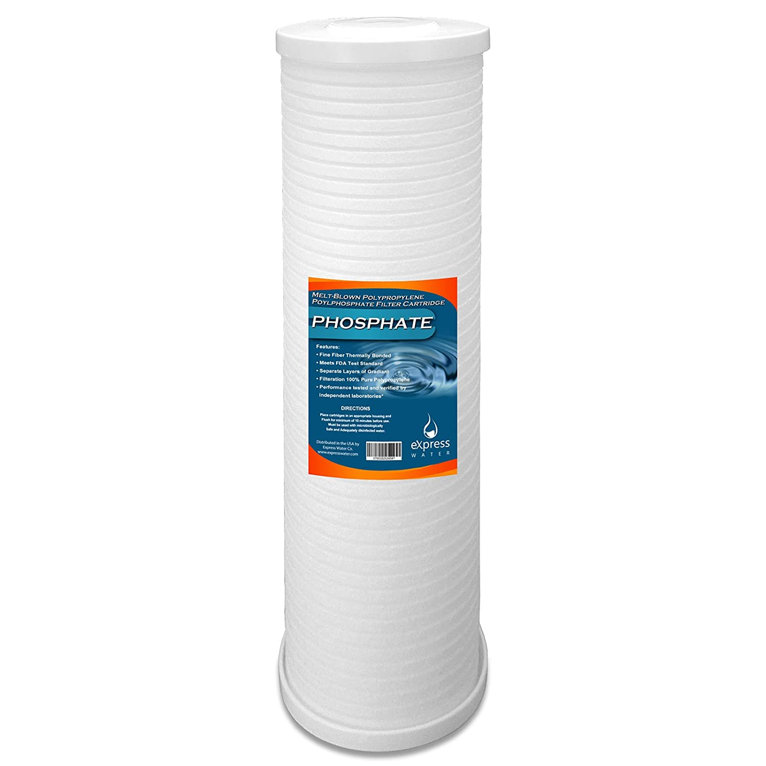 whole house water filter cartridge. Express Water Whole House Filter Replacement Cartridge Phosphate Polyphosphate Anti-Scale Sediment 4.5\