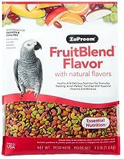 ZuPreem - Mangime per pappagalli al Gusto di Frutti Misti, Confezione Medio-Grande da 1,6kg