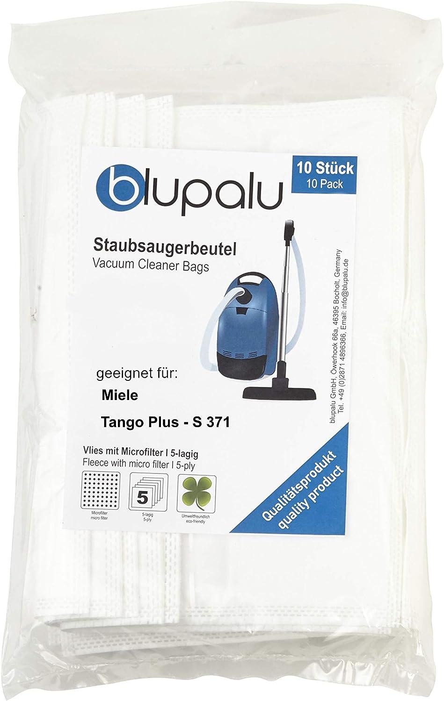 blupalu I Aspiradora Bolsas para aspiradora Miele Tango Plus – S ...