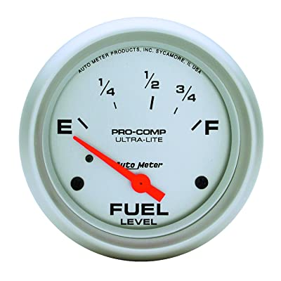 Auto Meter 4415 Ultra-Lite Electric Fuel Level Gauge: Automotive