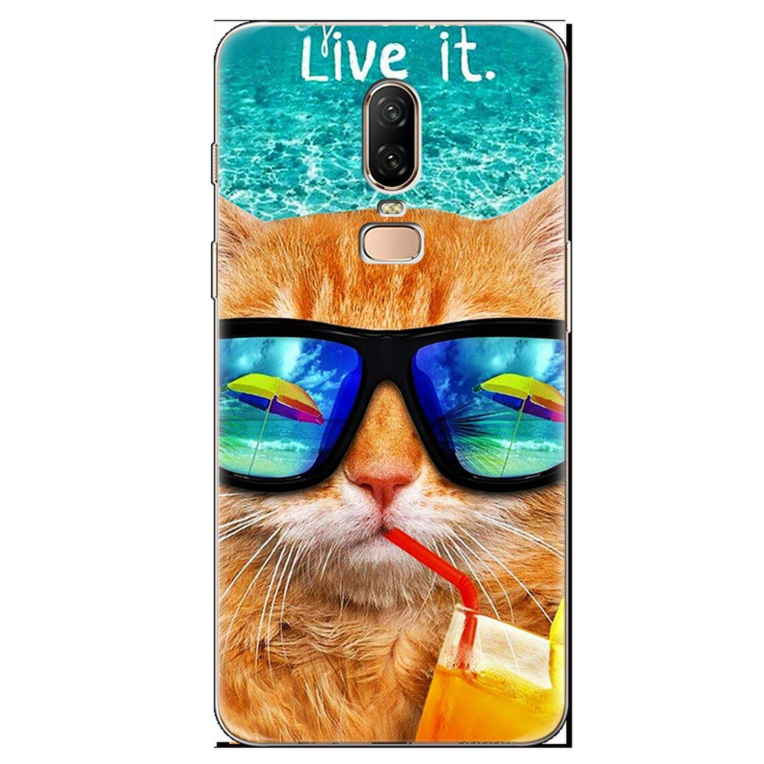 Amazon.com: for Cover Oneplus 3 5 5T 6 6T TPU Coque Soft ...