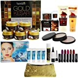 Nutriglow Magical Combo Skin Care With Makeup Combo Sets Free Assorted Clutch By Nutriglow