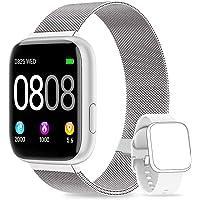 AIMIUVEI Smartwatch, Reloj Inteligente Mujer Hombre IP67 con Pulsómetro, 1.4 Inch…