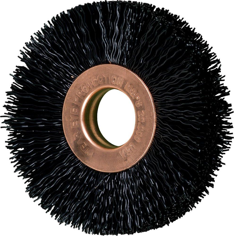 20000 Max rpm Pack of 10 2 Diameter PFERD 84340 Small Diameter Copper Centre Wheel Brush 2 Diameter 1//2 Arbor Hole PFERD Inc. 1//2 Arbor Hole .014 Nylon Filament