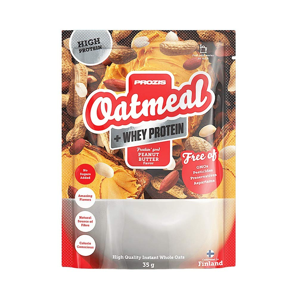 Sachet Oatmeal + Whey 35 g Brownie de chocolate: Amazon.es: Salud y cuidado personal