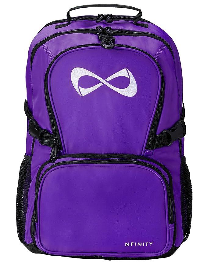 Purple Classic Backpack - White Logo