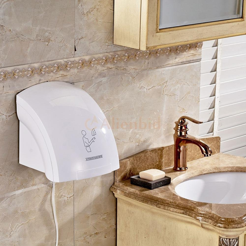 Bestee Household Hotel Automatic Infared Sensor Hand Dryer Bathroom Hands Drying Device