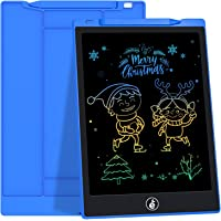 JefDiee LCD Writing Tablet Drawing Board, 11-Inch Colorful Screen Electronic Drawing Pad for Kids Doodle Board Writing…