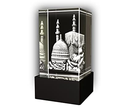 Buy Aadya 3D Crystal Engraved Gifts - 3D Photo Engraved