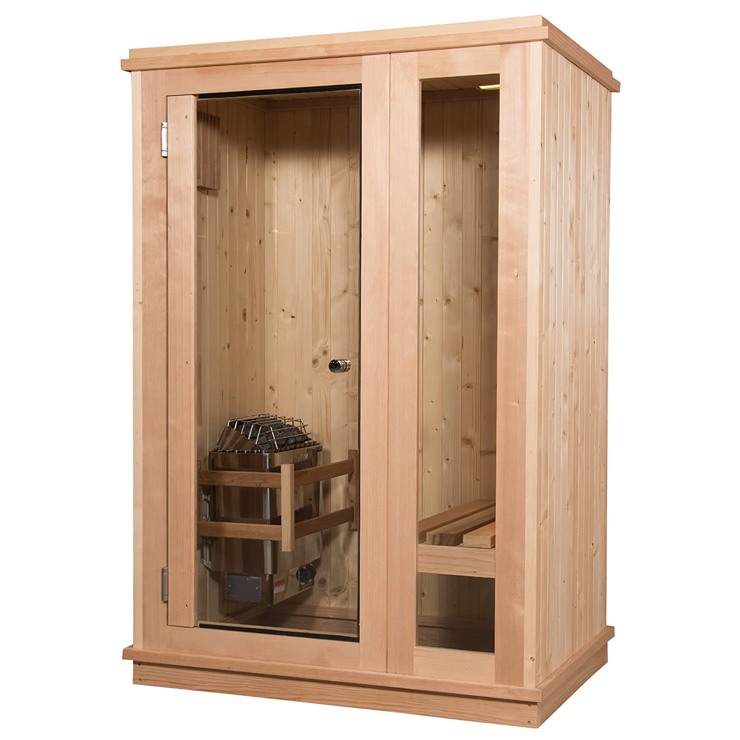 Almost Heaven Saunas Quality Indoor Sauna Kit Made In The Usa