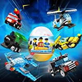 1PC DIY Children Building Block Twisted Egg Toy Educational Toys (Random Delivery)