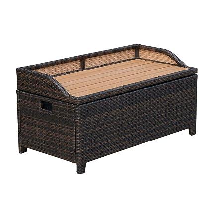 Tremendous Amazon Com Sayagold Garden Patio Storage Furniture Cabinet Interior Design Ideas Gentotthenellocom