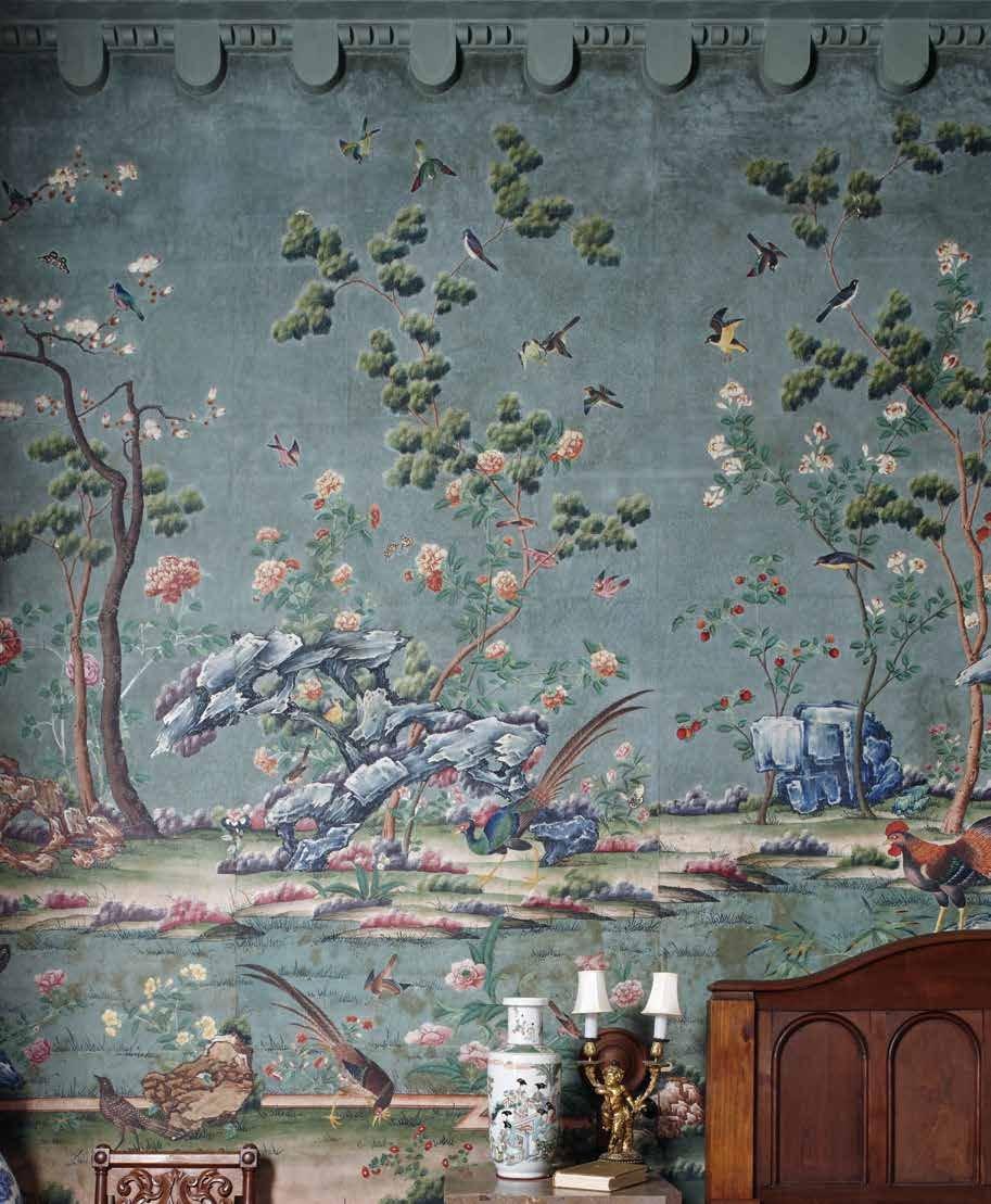 Chinese Wallpaper In Britain And Ireland Emile De Bruijn 9781781300541 Amazon Books