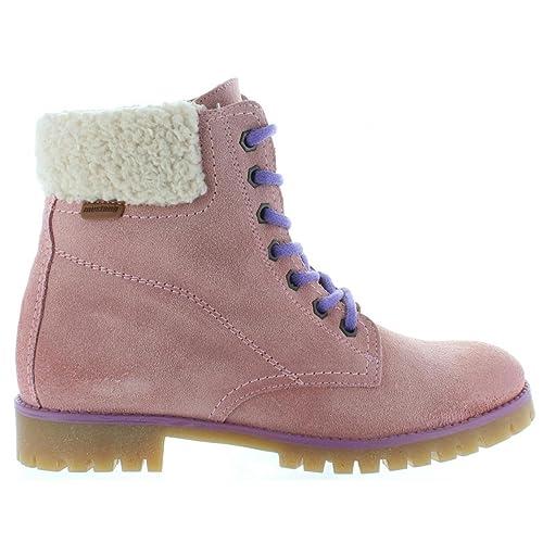 Botines de Mujer MTNG 93970 Serraje Rosa: Amazon.es: Zapatos y complementos