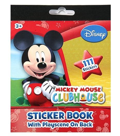 Mickey Mouse Sticker Book, 111-Count-Disney: Amazon.es ...