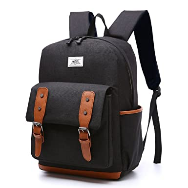 Amazon.com | HITOP Casual Cool Waterproof Bookbag Backpack, High ...