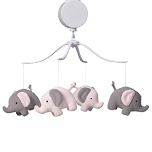 Bedtime Originals Eloise Musical Baby Crib Mobile