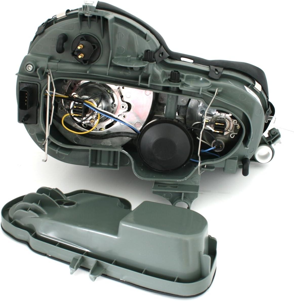 Eagle Eyes Halogen Scheinwerfer Set in Klarglas Chrom Facelift-Optik