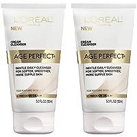 L'Oreal Paris Age Perfect Cream Cleanser, 2 Count