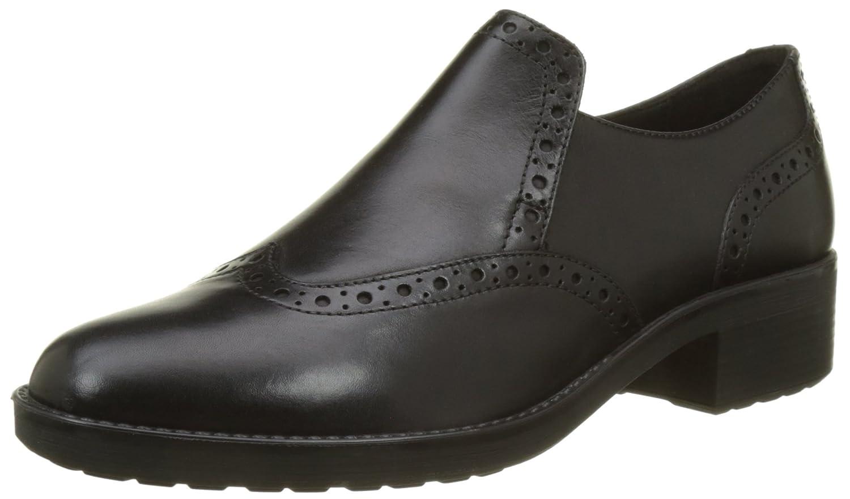Geox D Ettiene C, Zapatos de Vestir para Mujer 39 EU|Negro (Black)