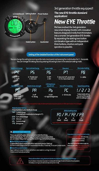 Weebot Patinete eléctrico Speedway 5 (24 Ah): Amazon.es ...