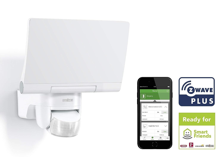 Steinel Smart Home LED Außenstrahler XLED Home 2 Z-Wave weiß