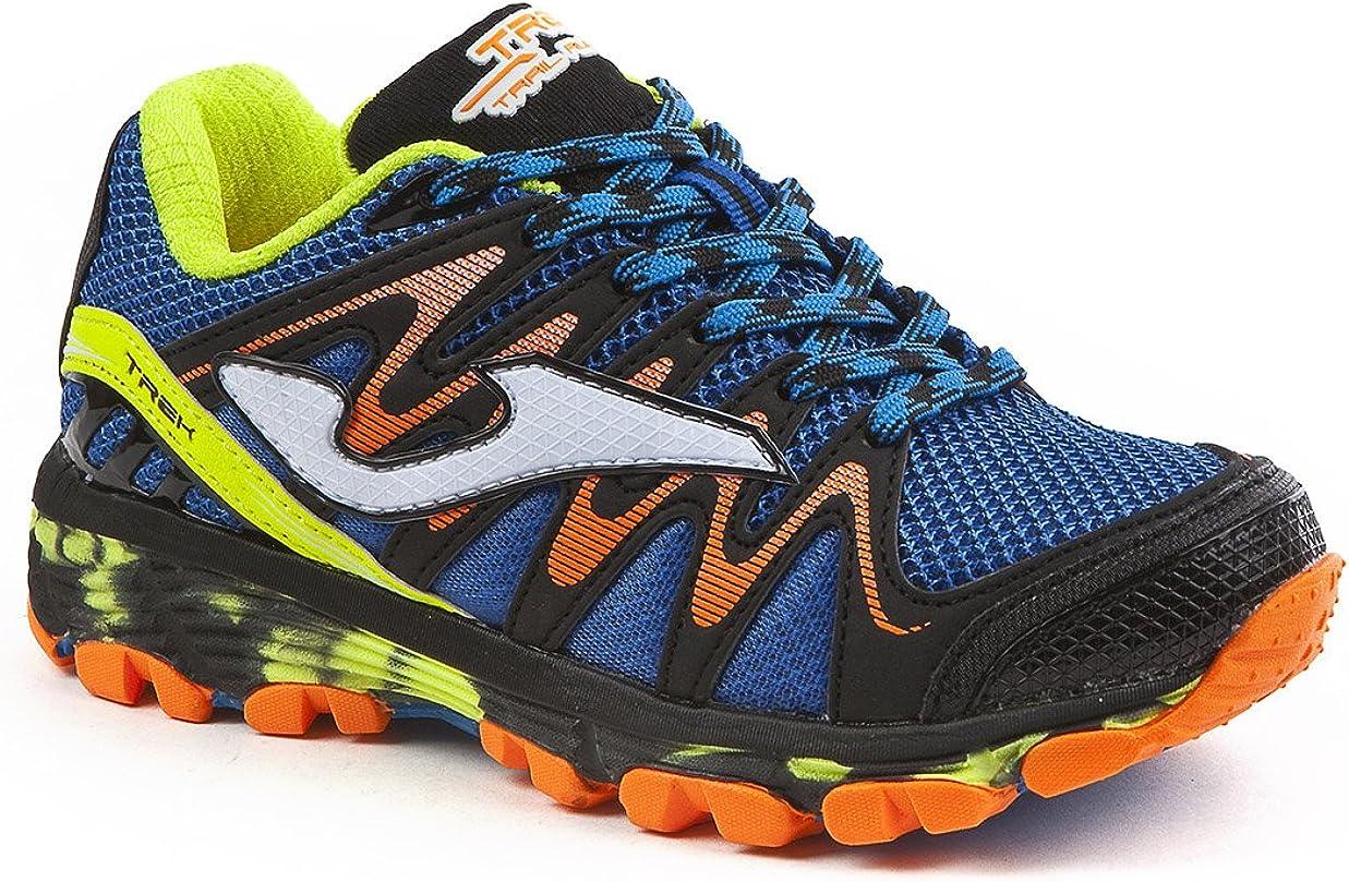 JOMA Trek Jr, Zapatillas de Running para Asfalto para Niños, Azul (Royal), 31 EU: Amazon.es: Zapatos y complementos