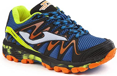 JOMA Trek Jr, Zapatillas de Running para Asfalto para Niños, Azul (Royal), 31 EU: Amazon.es: Zapatos y complementos
