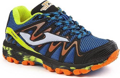 JOMA Trek Jr, Zapatillas de Running para Asfalto para Niños, Azul ...