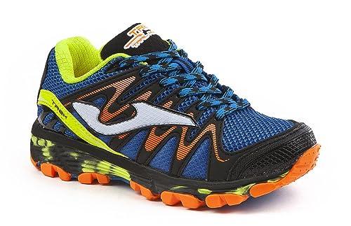 JOMA Trek Jr, Zapatillas de Running para Asfalto para Niños, Azul (Royal)