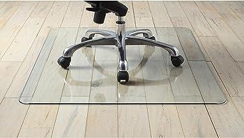 Lorell Tempered Glass Chair Mat