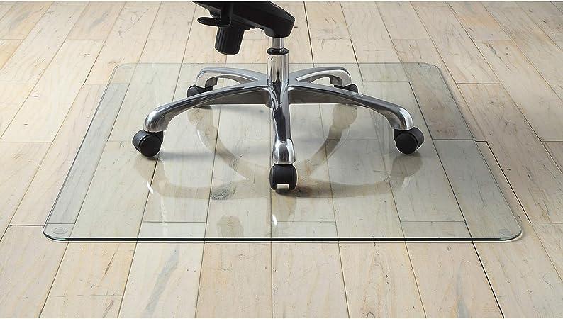 Lorell 36寸钢化玻璃办公椅地垫