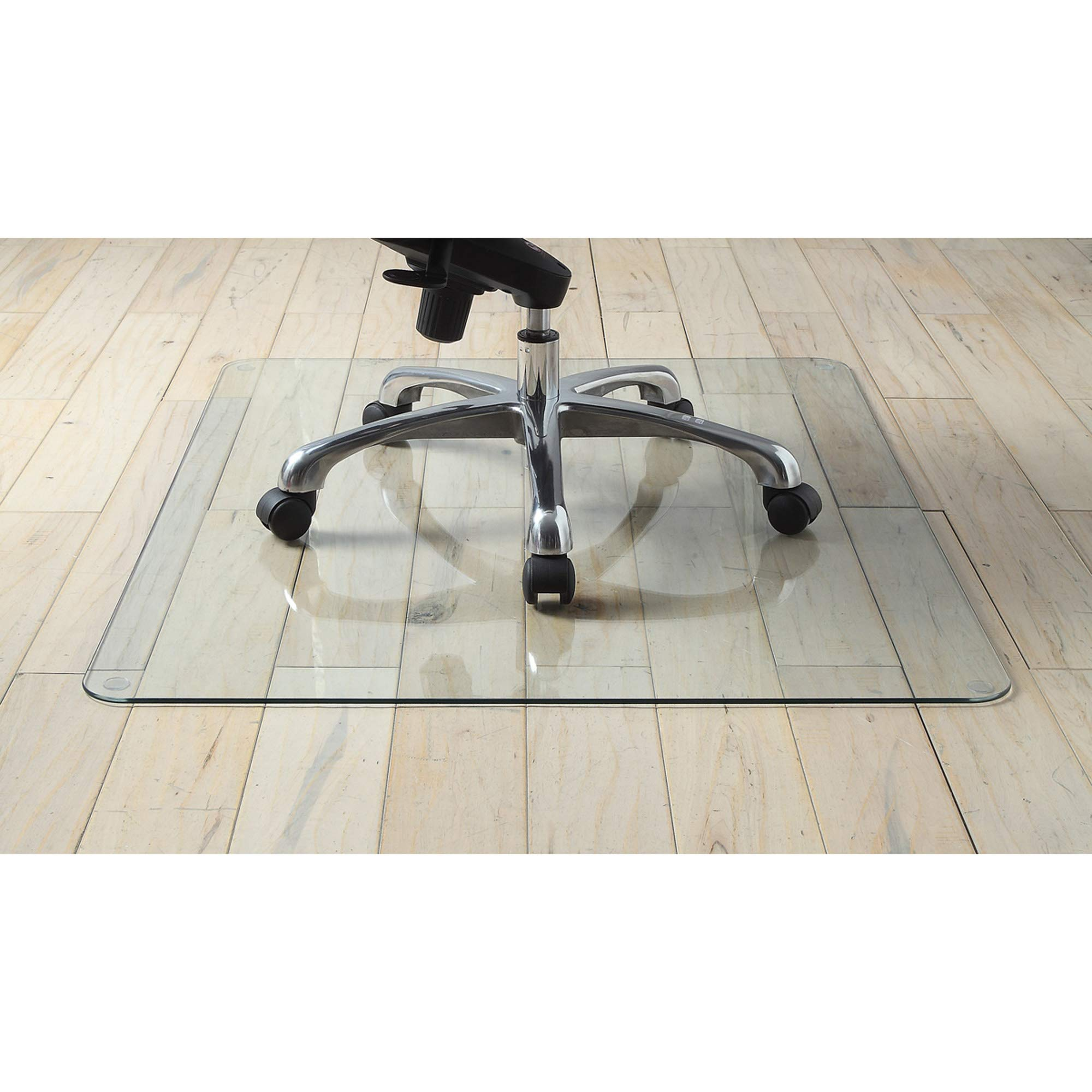 Lorell Tempered Glass Chair Mat by Lorell (Image #2)