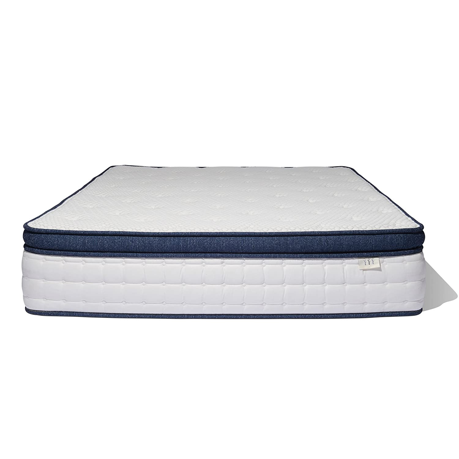 amazon com brentwood home del mar wrapped innerspring mattress