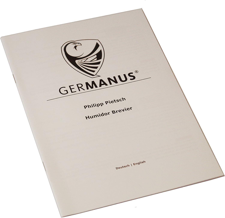 Schwarz GERMANUS Schrank Humidor Viadrus
