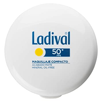 Ladival Maquillaje Compacto - Oil Free - FPS 50+, Color Arena ...