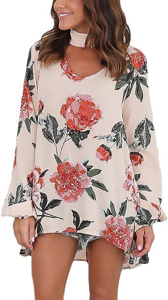 Blusas de moda de flores 2017
