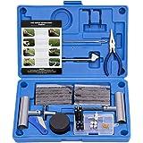AUTOWN Tire Repair Kit - 67pcs Heavy Duty Tire Repair Tools & Tire Repair Set for Car, Motorcycle, Truck, ATV, Tractor…