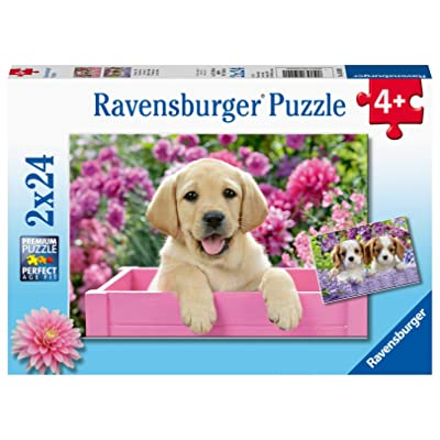 Ravensburger 05029 Me and My Pal 2 x 24 Piece Puzzles in a Box - 2 x 24 Piece Puzzles for Kids, Every Piece is Unique, Pieces Fit Together Perfectly: Toys & Games