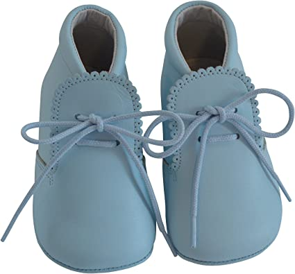 Baby Boys Leather Soft Sole Shoes w