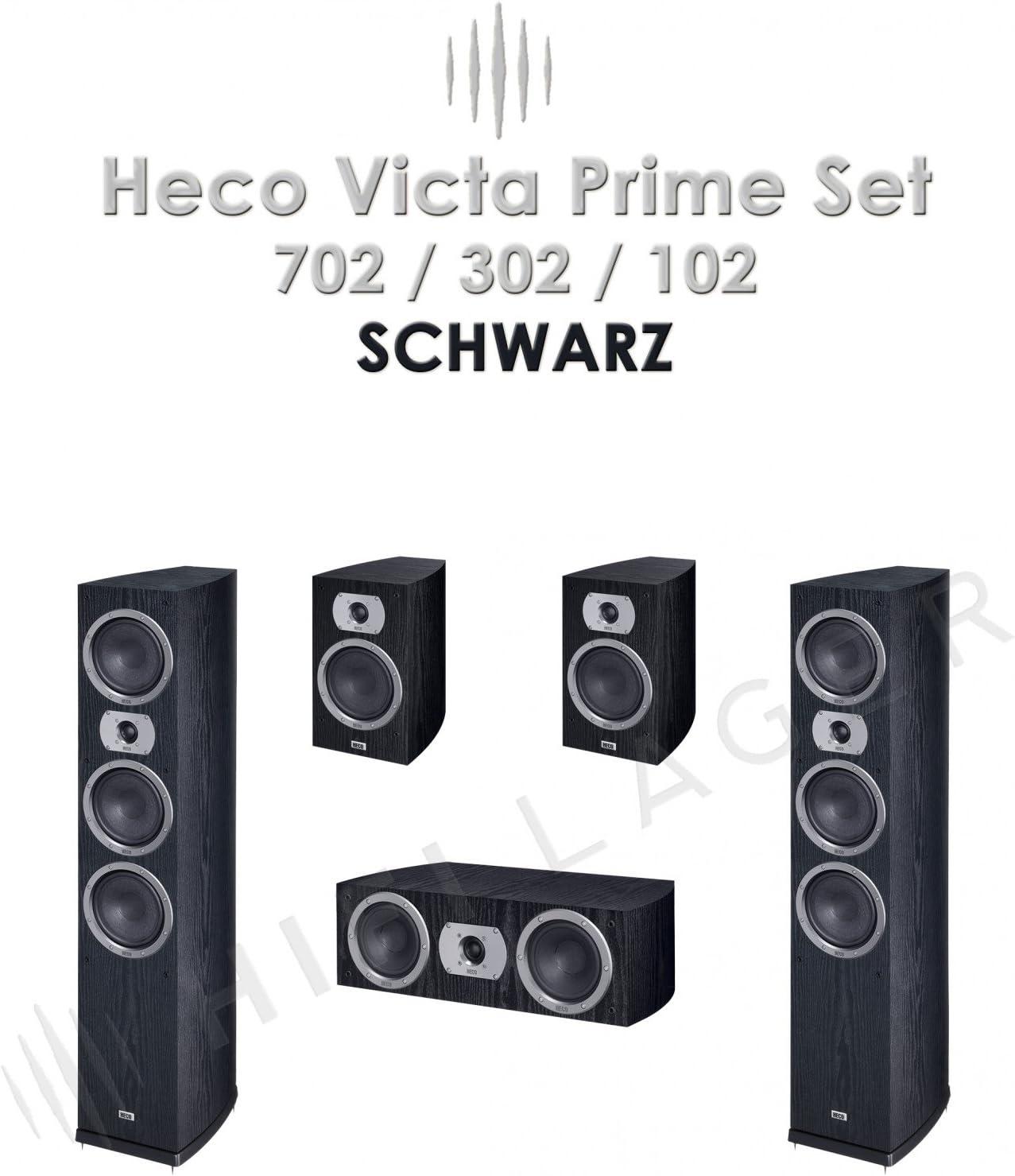 Heco Victa Prime 702 302 102 Set Farbe Schwarz Serie Elektronik