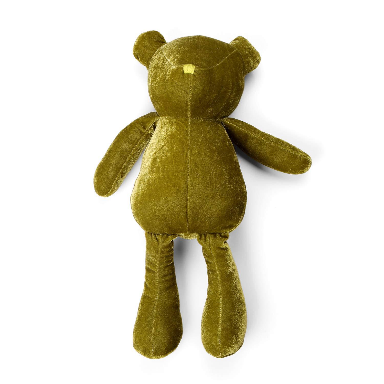 meowtastic Velvet Teddy Bear Stuffed Animal Plush 16.5 Inches Green