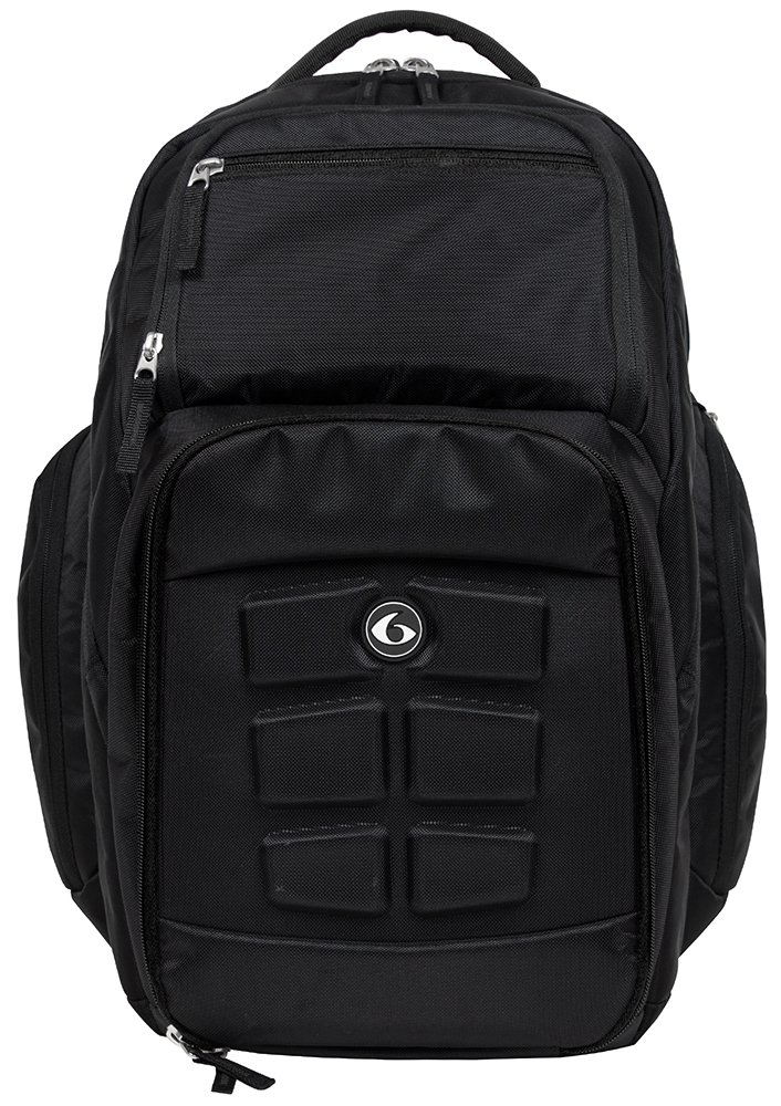 Fitness Expedition Backpack Meal Mangement System 500 Stealth Black by 6 Pack Fitness B013N8KLC2Black Stealth 5 Meal