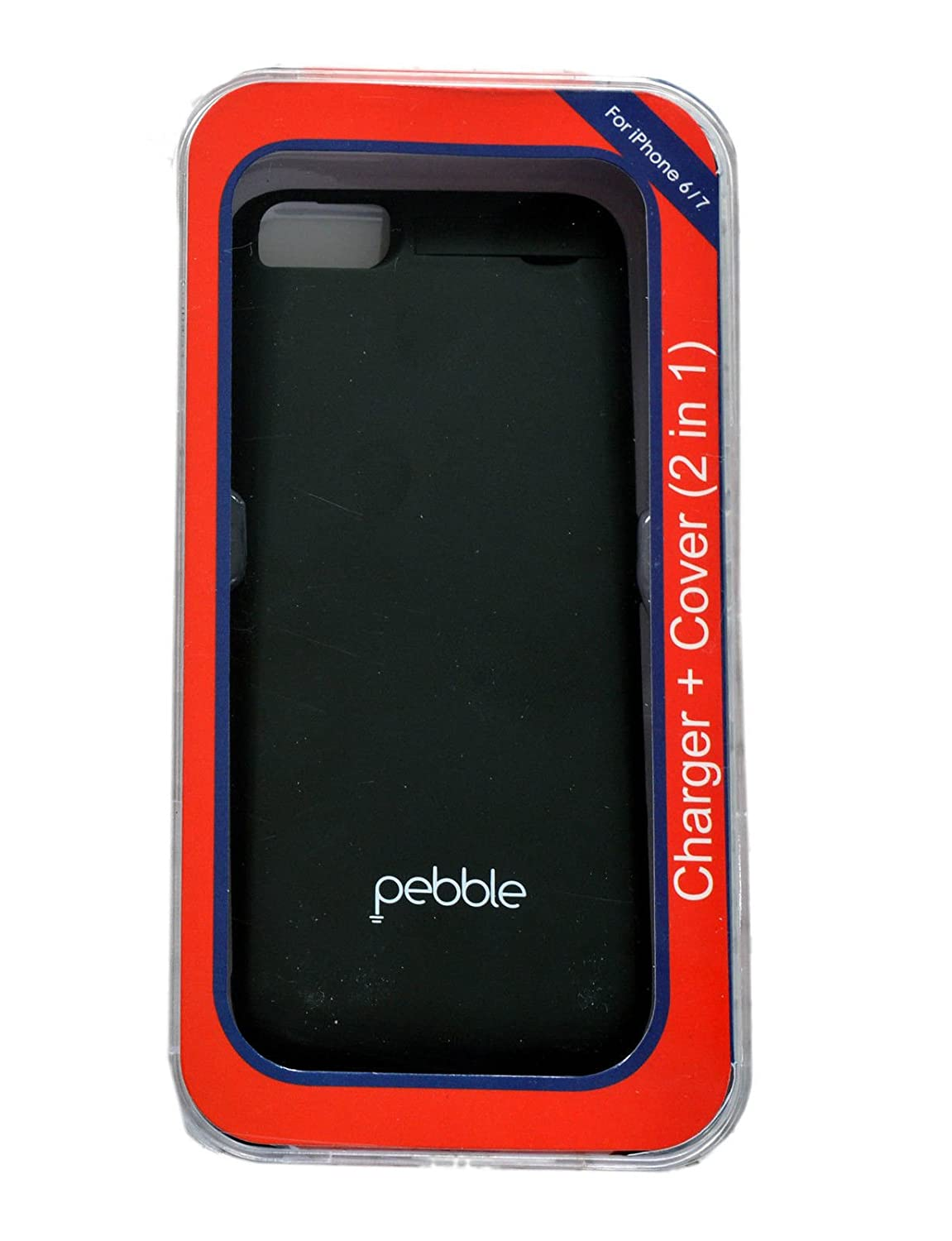 timeless design f53ab 8d062 PEBBLE CHARGING CASE FOR IPHONE 6, 7, AND 8